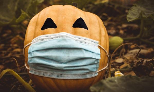 Covid Halloween Image Credit: Canva