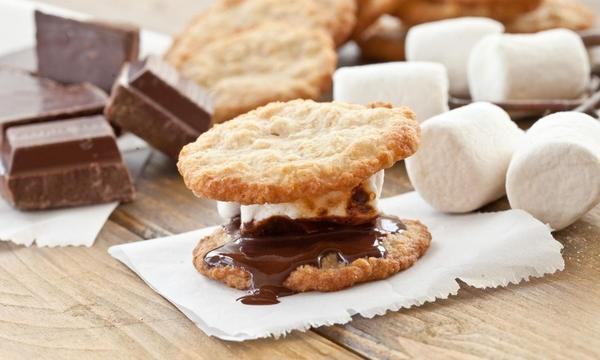 While the traditional s'more is hard to beat, it's fun to try!