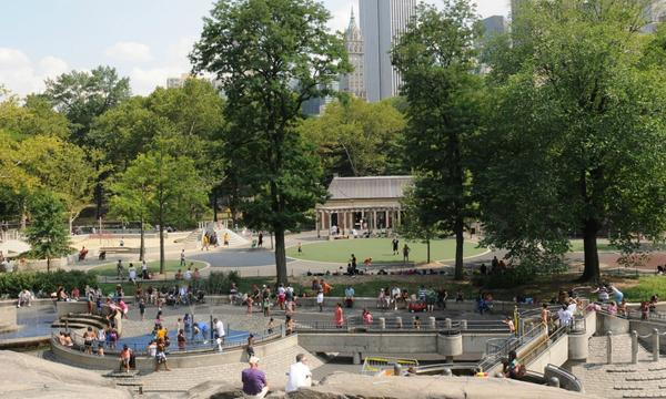Hecksher Playground at Central Park in New York Photo Courtesy of Central Park Conservancy