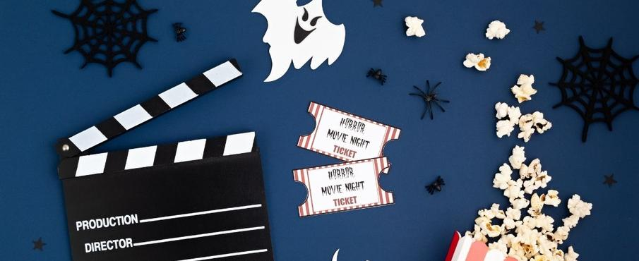 Halloween Family Movie Night Image Credit: Canva