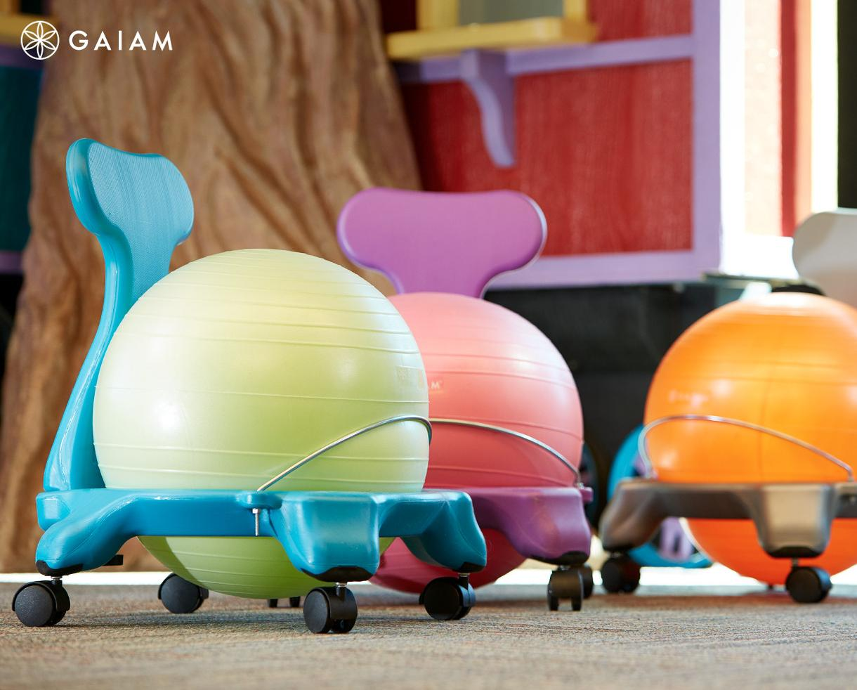 20% Off Gaiam Yoga Ball Chairs & Select Active Sitting Collection