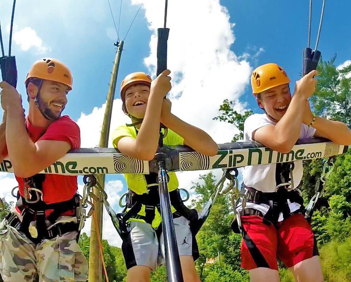 Nacoochee Adventures Zip Line or Challenge Course