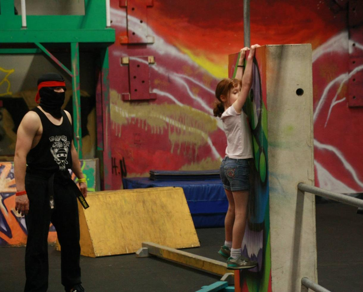 Ninja Warrior & Parkour Birthday Party at Urban Evolution for Up to 10 Kids