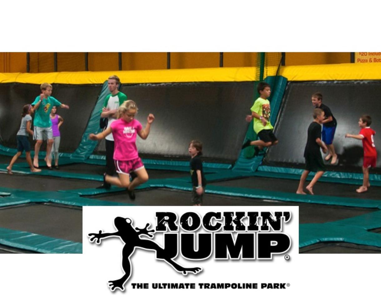 275 For Birthday Party At Rockin Jump Trampoline Park In
