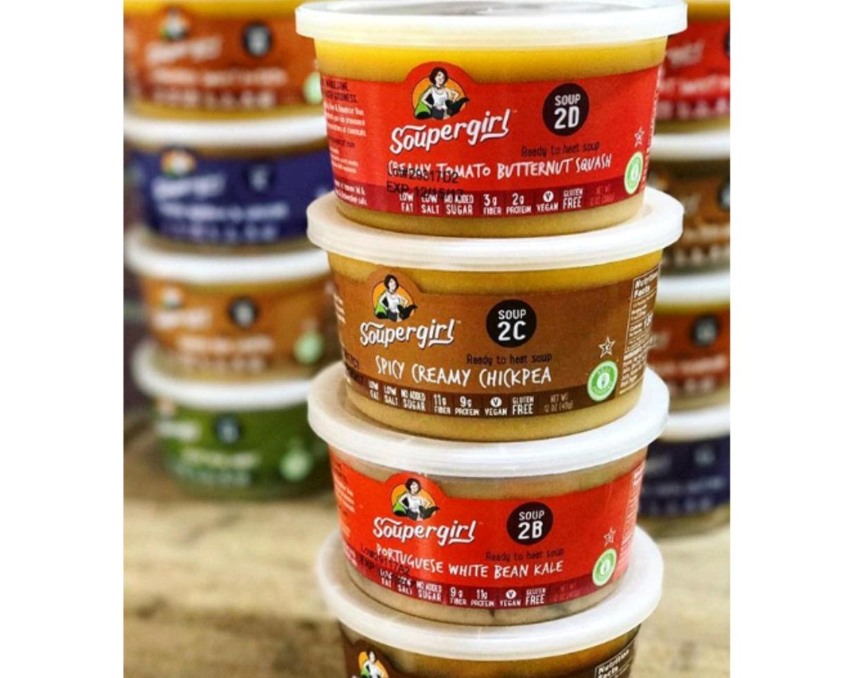 Soupergirl Soups - Forget the Prepping & the Cooking with a Variety of 20 Homemade, Healthy, Ready-to-go Soups (20% Off)