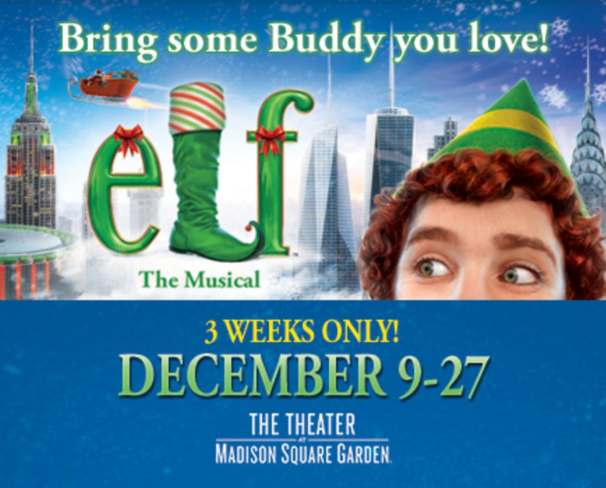 29 for elf the musical at the theater at madison square garden ny from dec9 27 up to 35 off - The Theater At Madison Square Garden