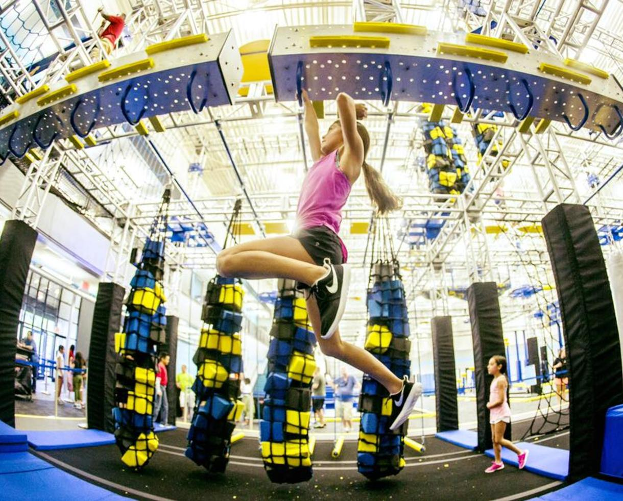 $12 for Admission to BRAND NEW ZavaZone STERLING, VA + Jump Socks! Includes Jump & Adventure Zone, Climbing, American Ninja Warrior Challenges & More for Ages 5+ (45% Off)