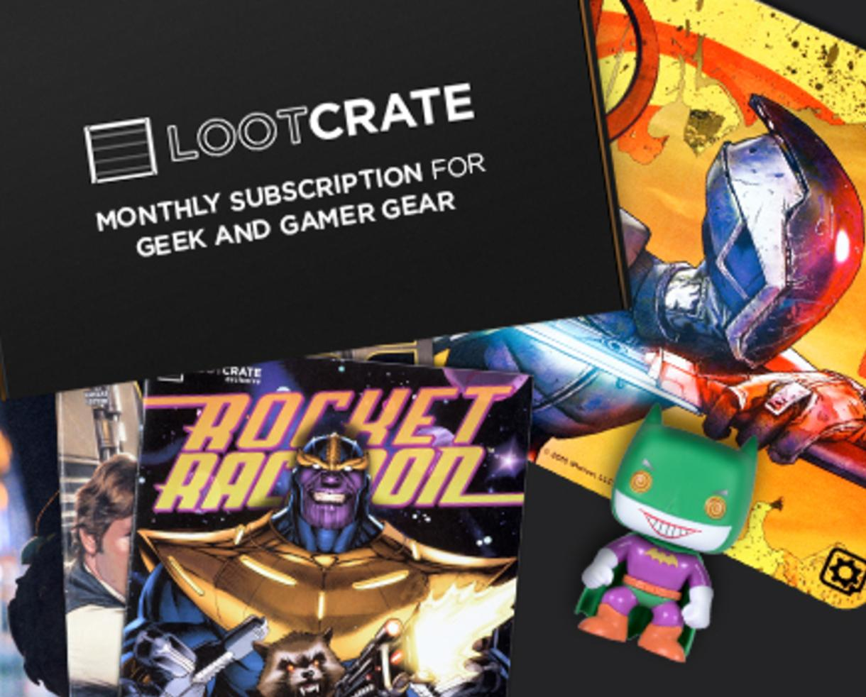 Discounted Subscription to Loot Crate - The Ultimate Gift for Geek ...