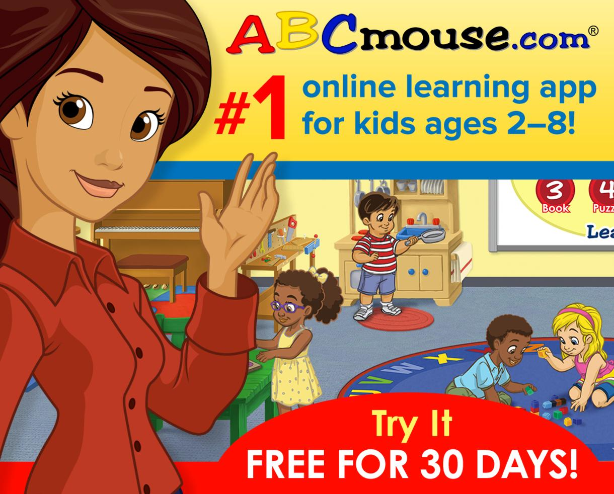 Spring Into Learning with ABCmouse: Get ABCmouse Free for 30 Days!