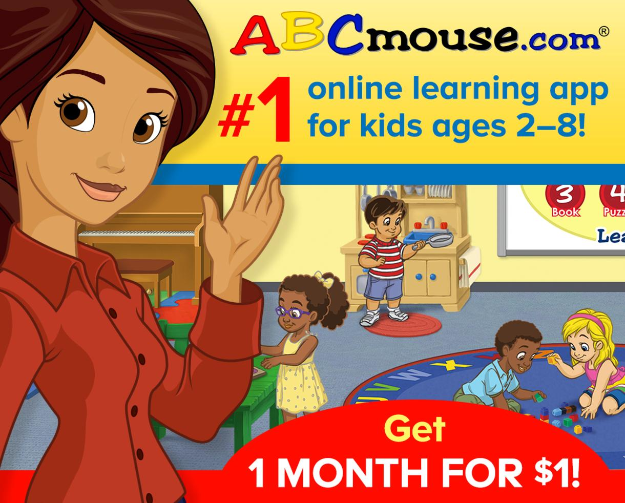 Spring into Learning: Get 1 Month of ABCmouse for $1!