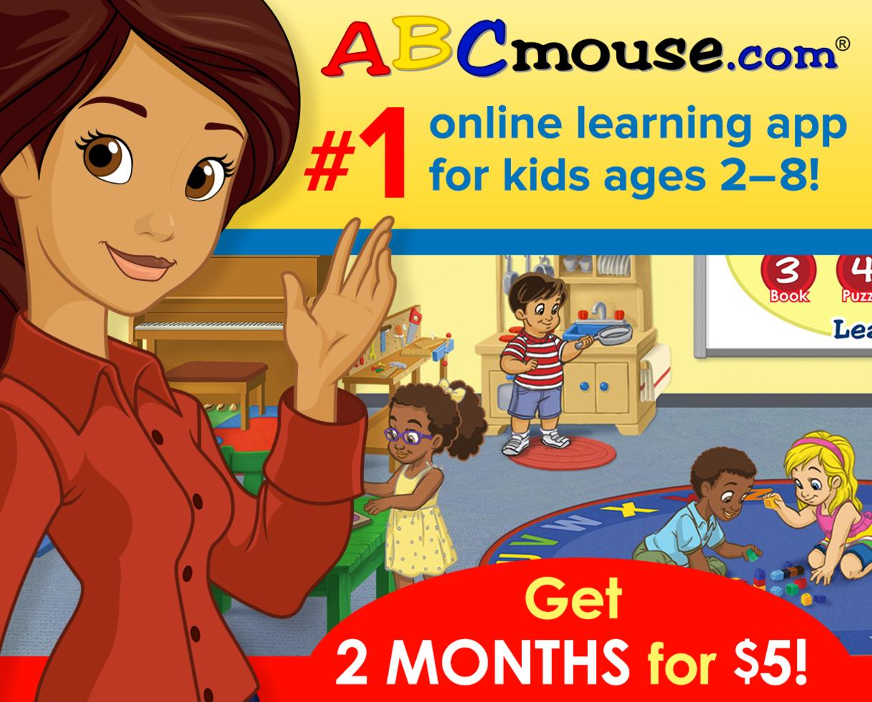 Back-to-School Offer: Get 2 Months of ABCmouse.com for Only $5!