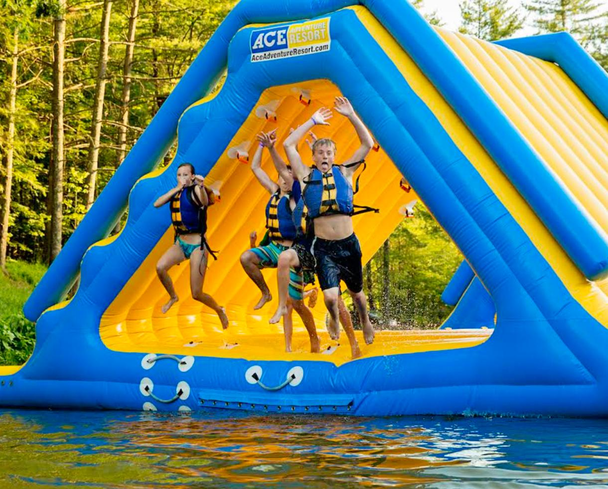 $72+ Per Person for 2-Night Kid-Friendly White Water Rafting, Camping & Wonderland Waterpark Pass - ACE Adventure Resort in WV (30% Off)