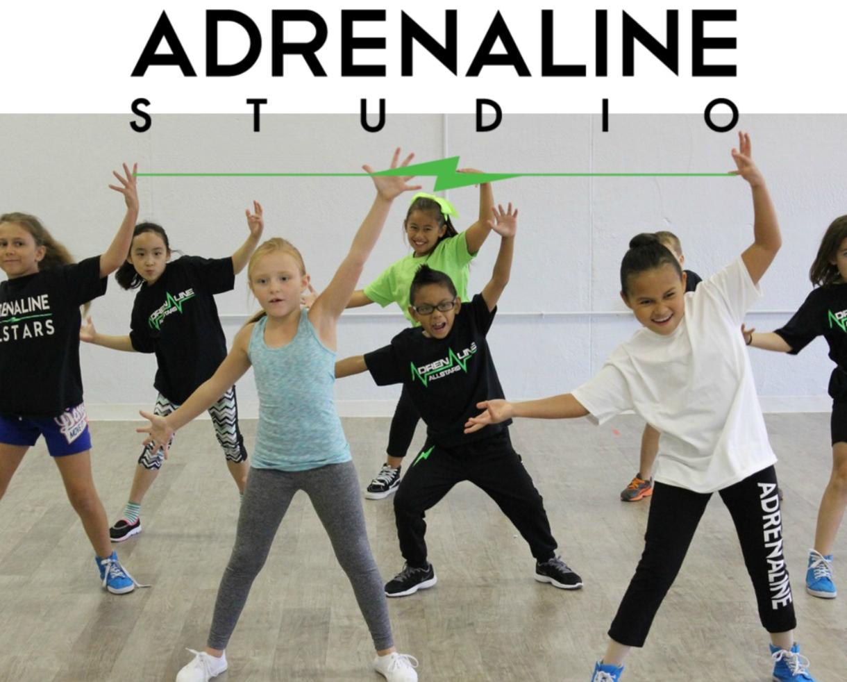 One Week of Half-Day Adrenaline Studio Dance Camp