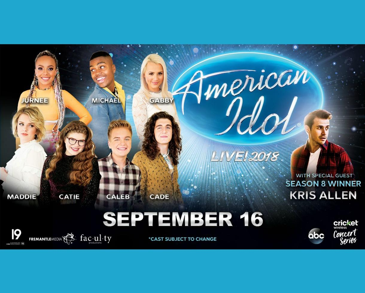American Idol: Live! 2018 at The Warner Theatre