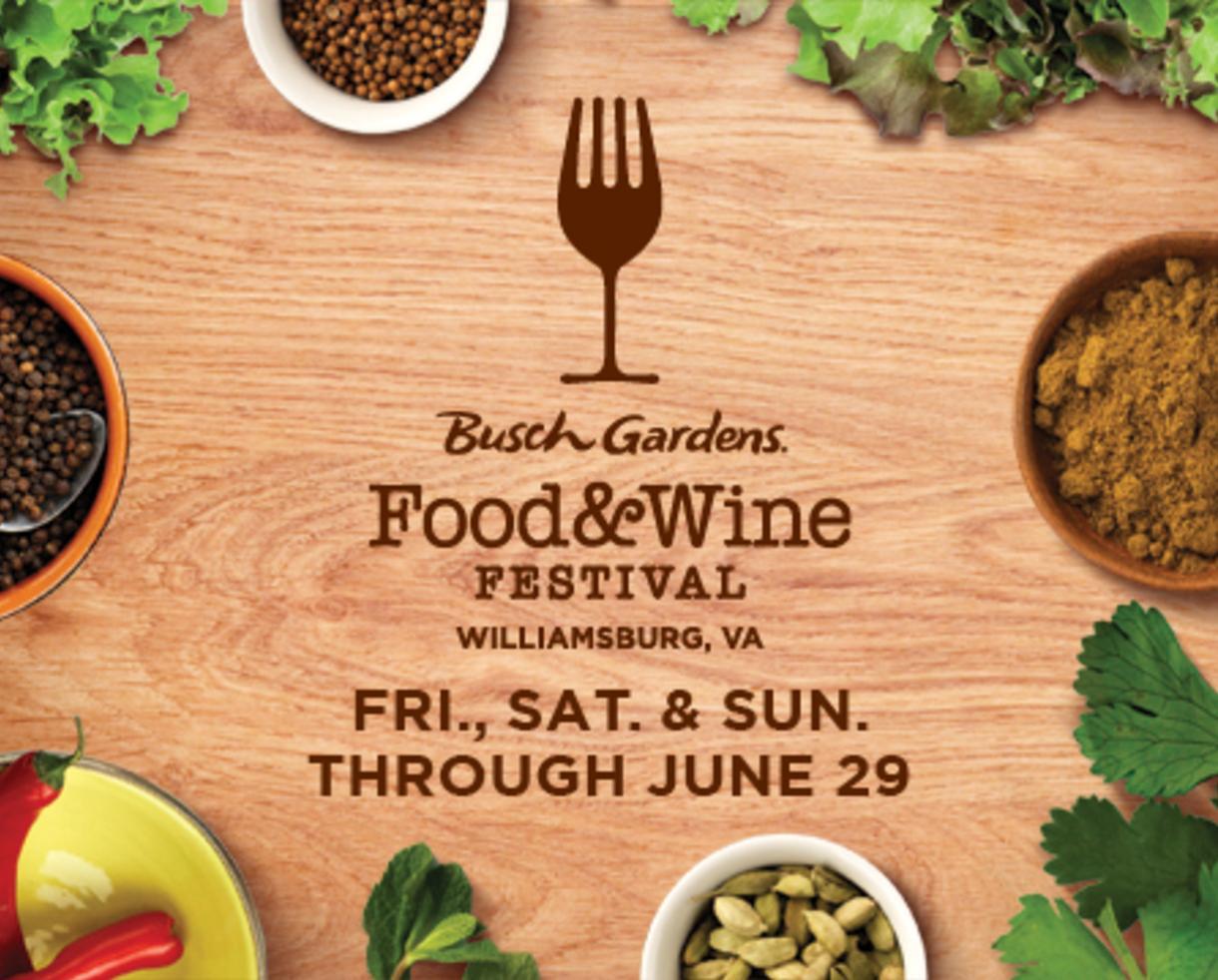 Busch Gardens Williamsburg Va Food And Wine Festival