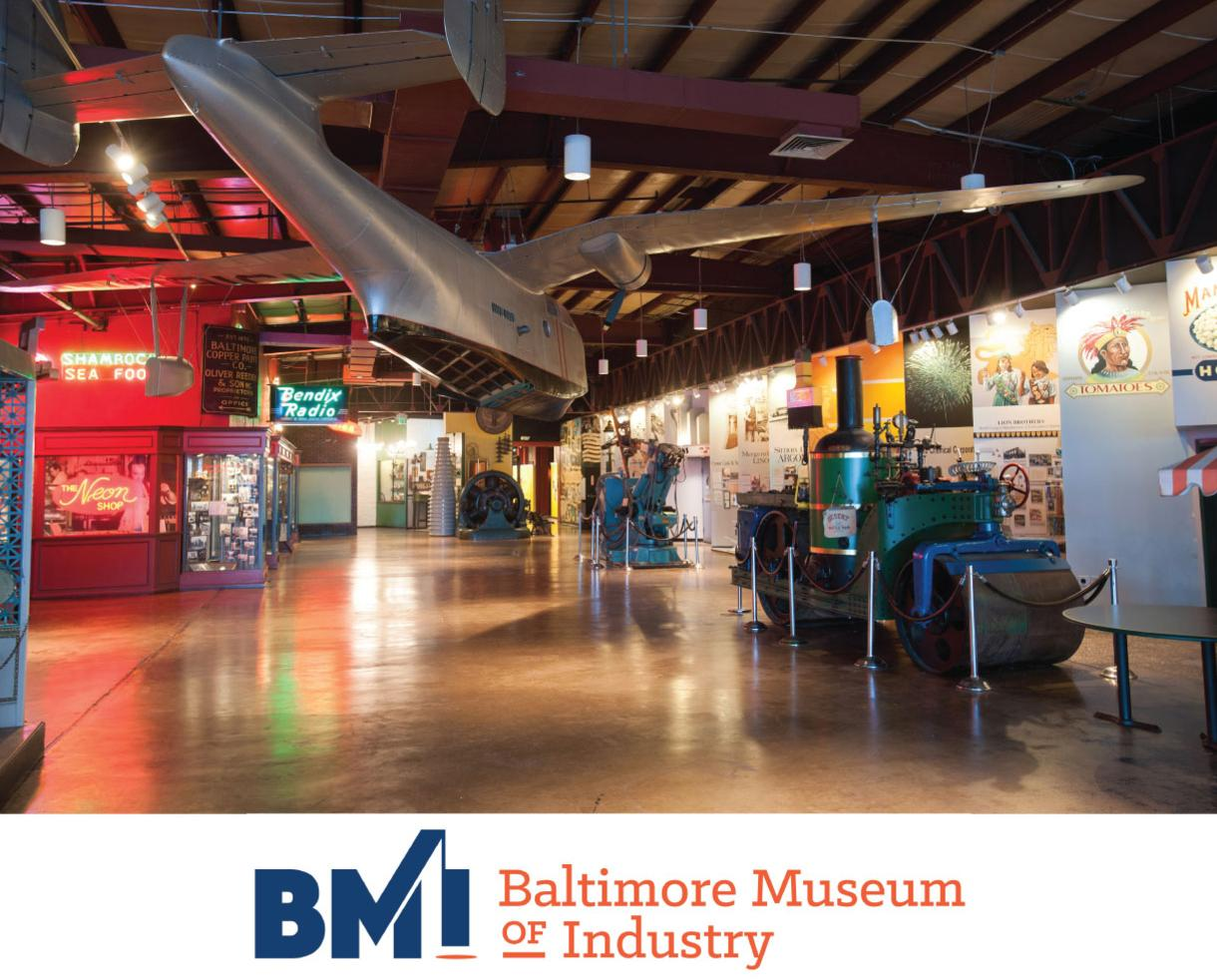 $3.50 for Youth or $6 for Adult Admission to the BALTIMORE MUSEUM OF INDUSTRY + Weekend Workers Program Included! (50% Off)