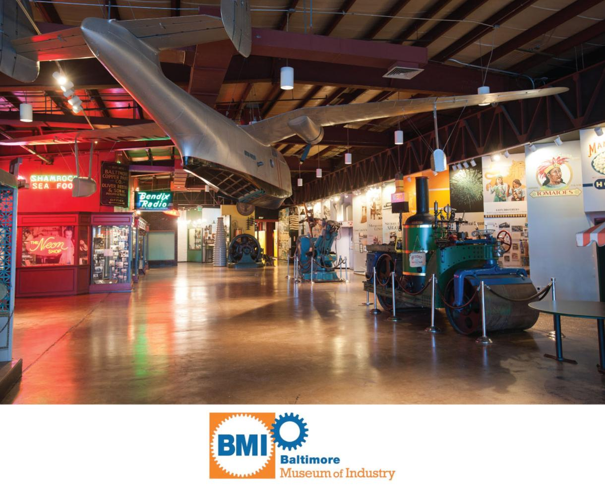 $3.50 for Youth or $6 for Adult Admission to the BALTIMORE MUSEUM OF INDUSTRY - NEW Weekend Workers Program Included! (50% Off)