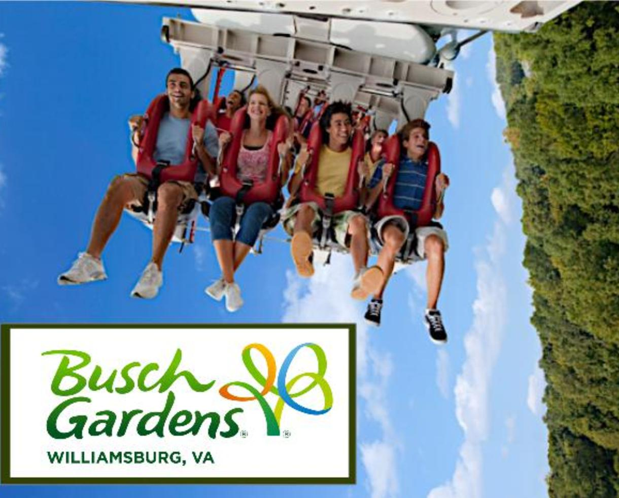 15 Off Busch Gardens Williamsburg Single Day Admission Now