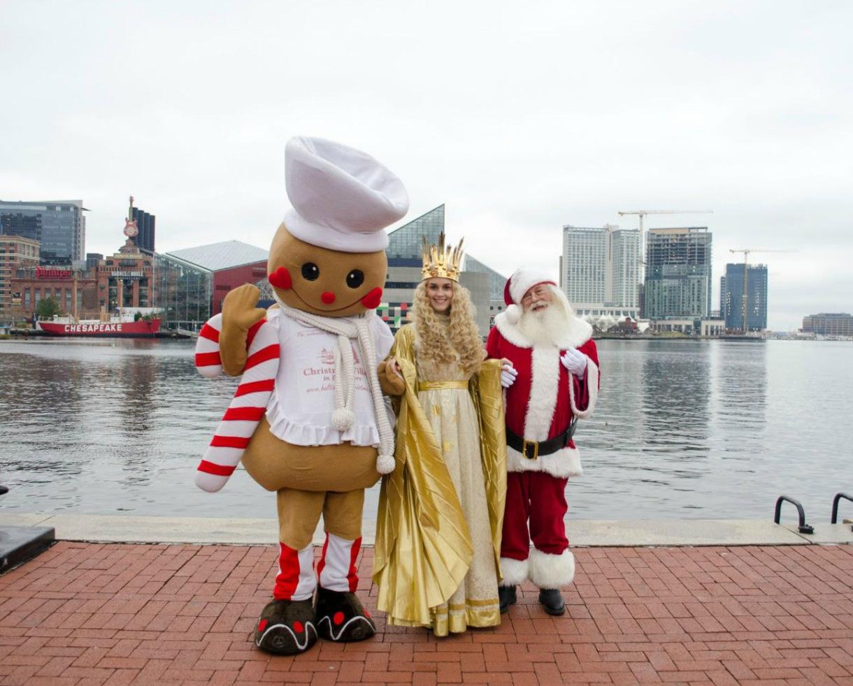 $5 for Christmas Village Weekend Admission for the Whole Family OR $9 for Kids Weekday Fun Package - Baltimore's Inner Harbor (Up to 58% Off)