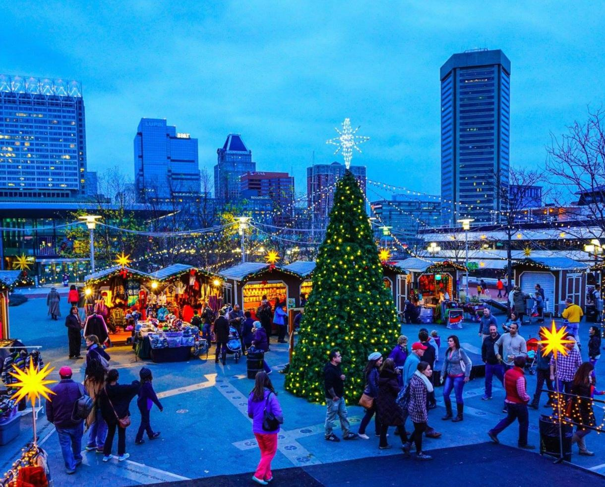 5 for christmas village weekend admission for the whole family or 9 for kids weekday fun - Christmas In Baltimore