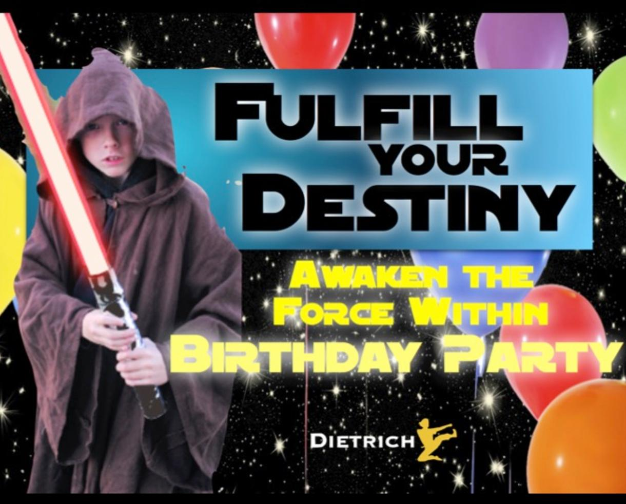 Deal 179 For Awaken The Force Within Birthday Party At