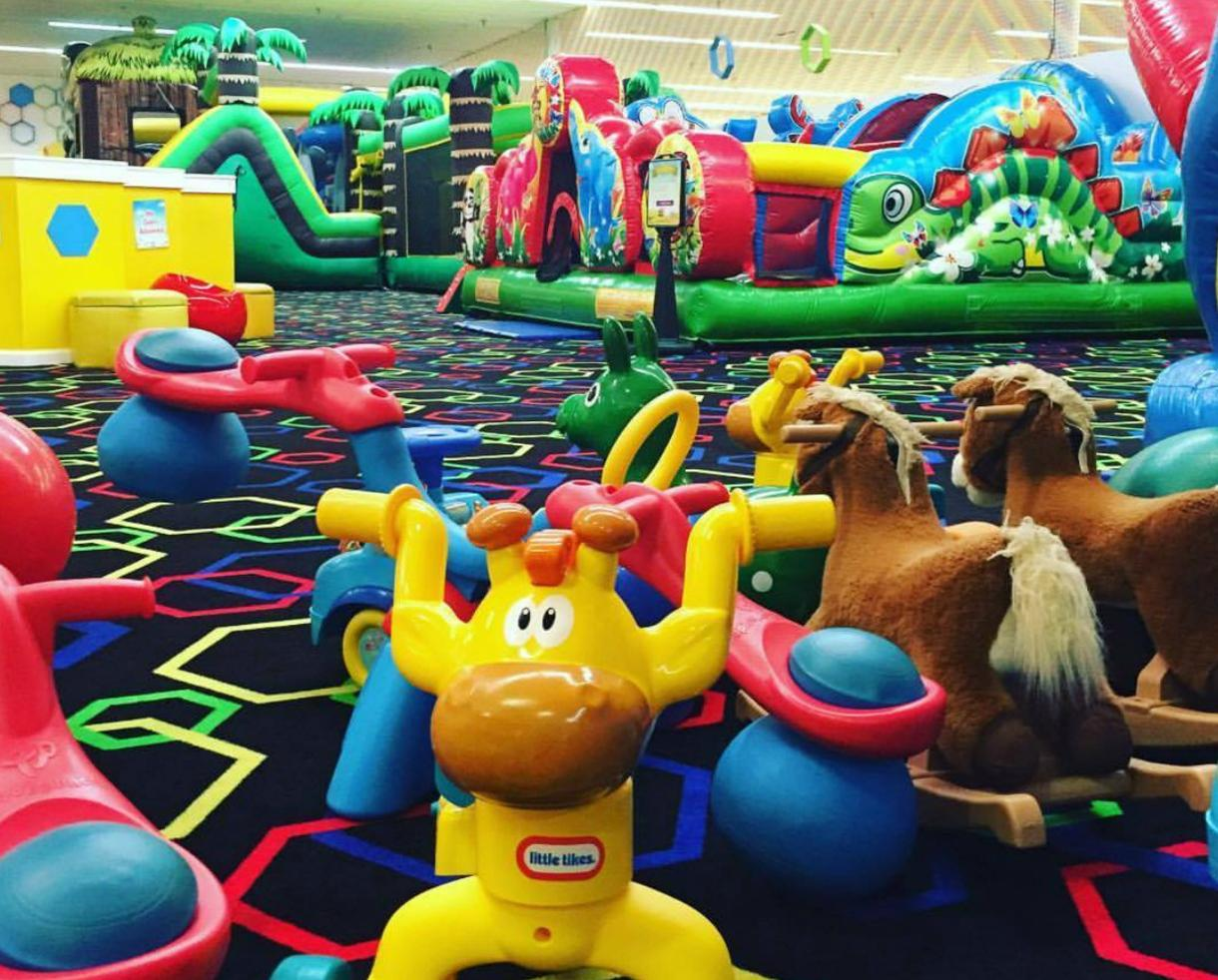 40% Off Beehive Indoor Playground Jump and Play Punch Card for Ages 10 Mos - 12 in Woodbridge