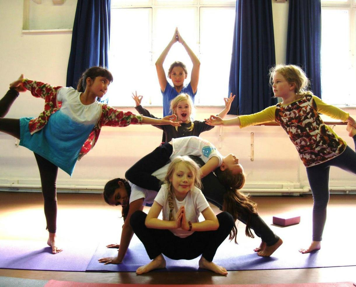 Beloved Yoga Kids Birthday Party
