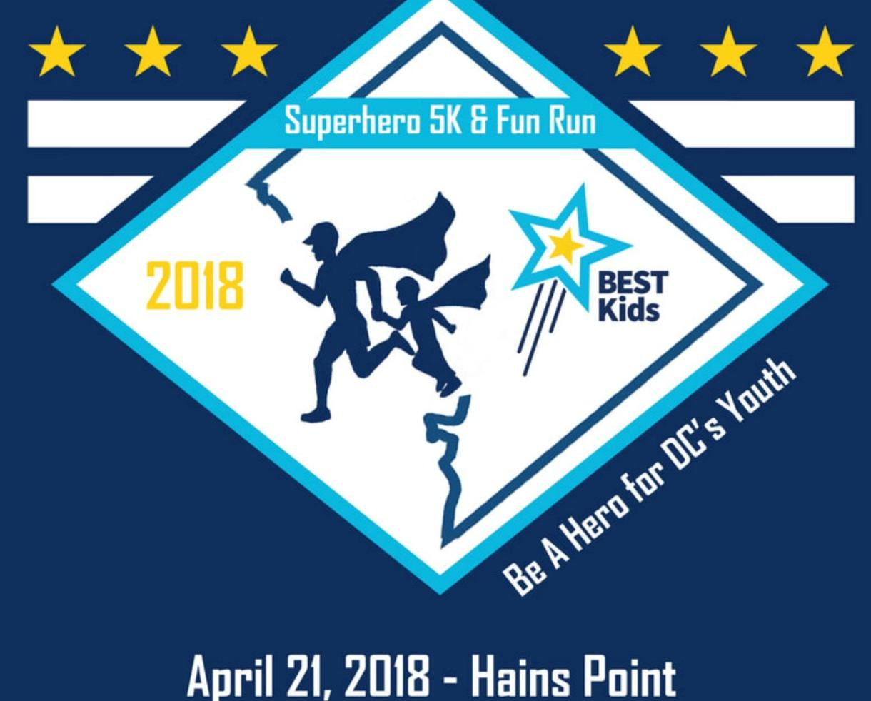 Deal BEST Kids Superhero 5K and Fun Run at Hains Point in East