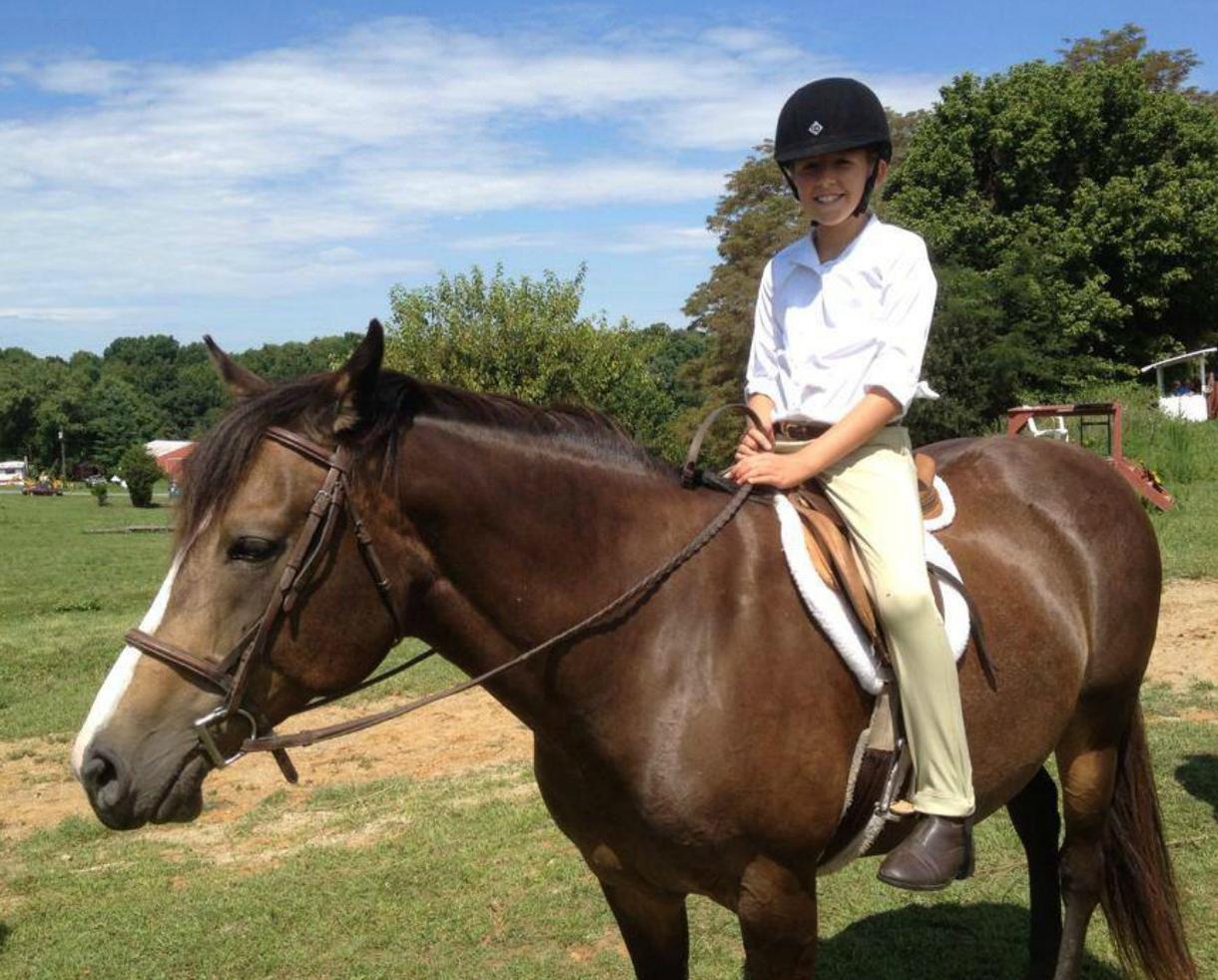 Horseback Riding Lessons at The Big Easy Farm