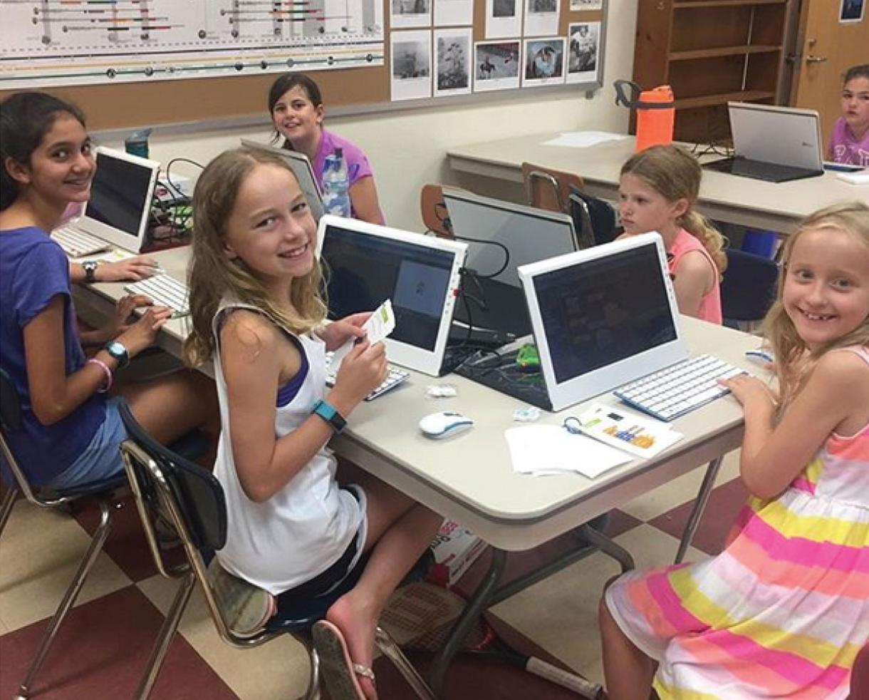 Boolean Girl Computer Programming Camp