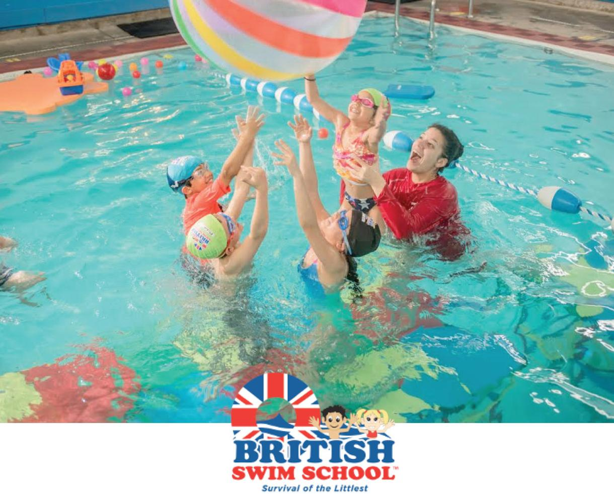 Deal 99 For 6 Weeks Of Group Swimming Lessons At British