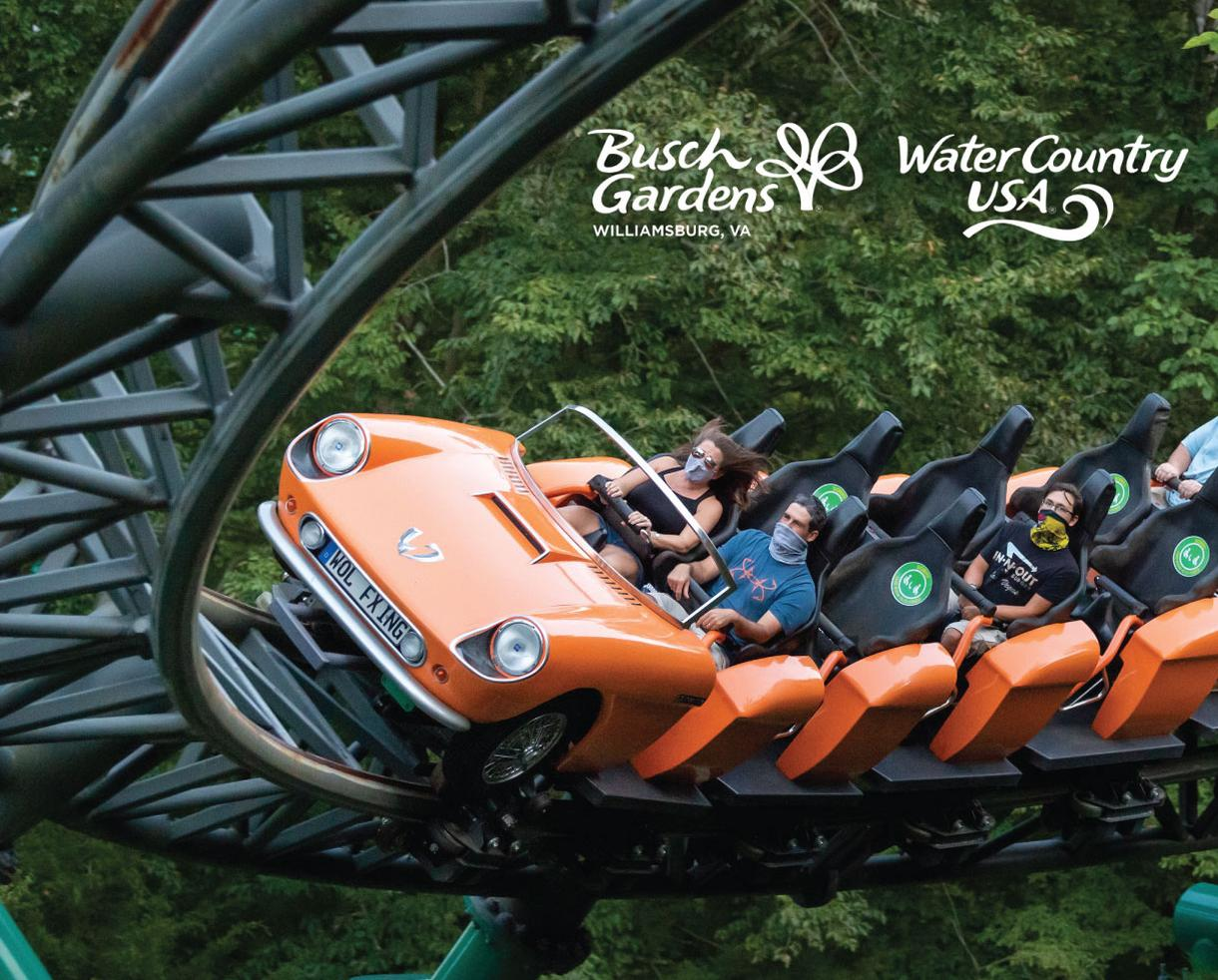 Busch Gardens Williamsburg + Water Country USA - Up to 35% Off Admission!
