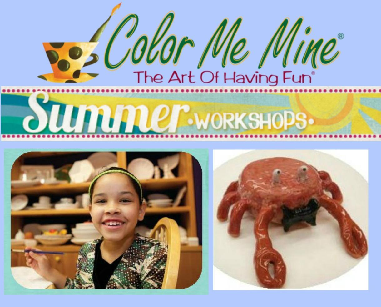 $250 for Color Me Mine Clay Camp for Ages 7-11 in Silver Spring (24% Off)