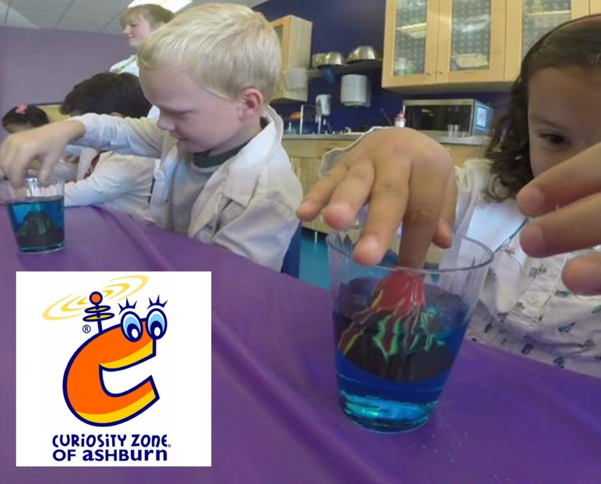 $179 for Curiosity Zone Science, Minecraft or Electronics Classes for Ages 3-11 - Ashburn (30% Off)