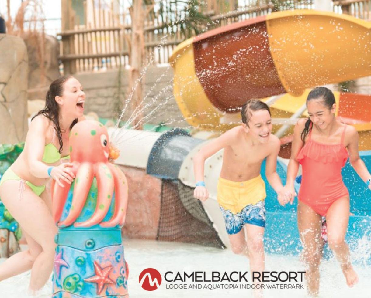 Camelback Lodge & Aquatopia Indoor Waterpark Getaway