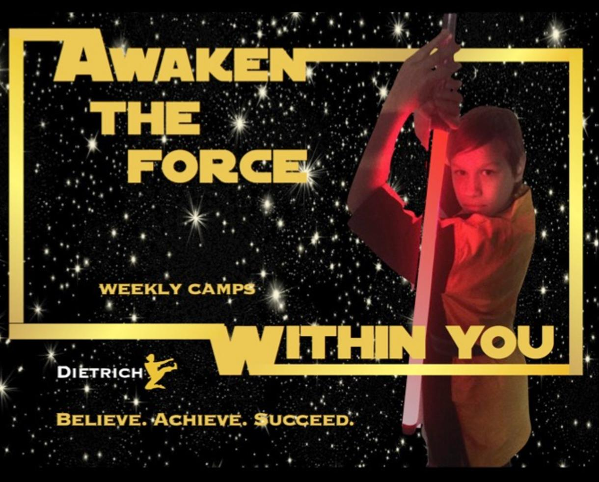 $149+ for Dietrich's Dojo Awaken the Force Within Camp for Ages 5 and Up in Burke (Up to 31% Off)