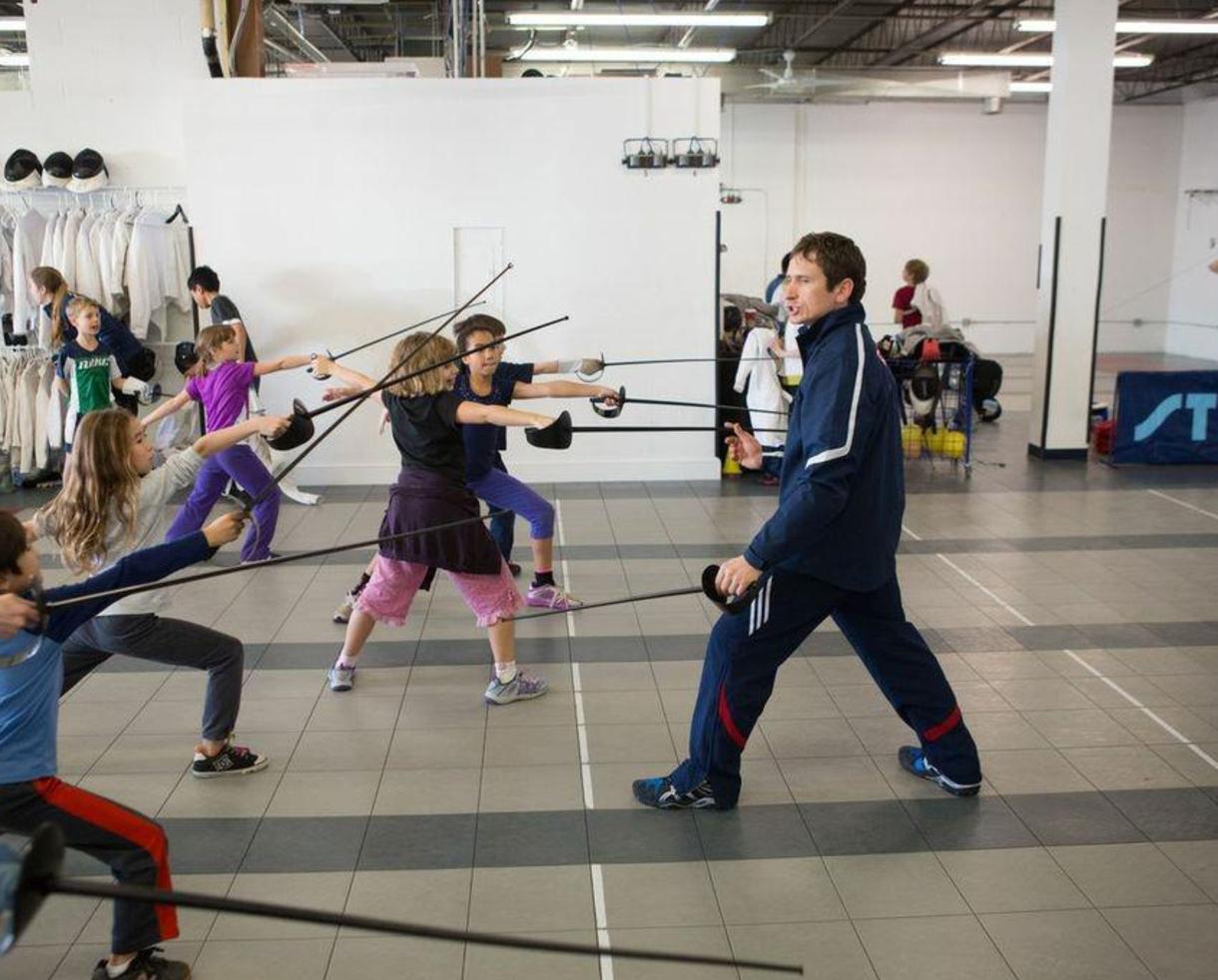 Capital Fencing Academy Beginner Fencing Course