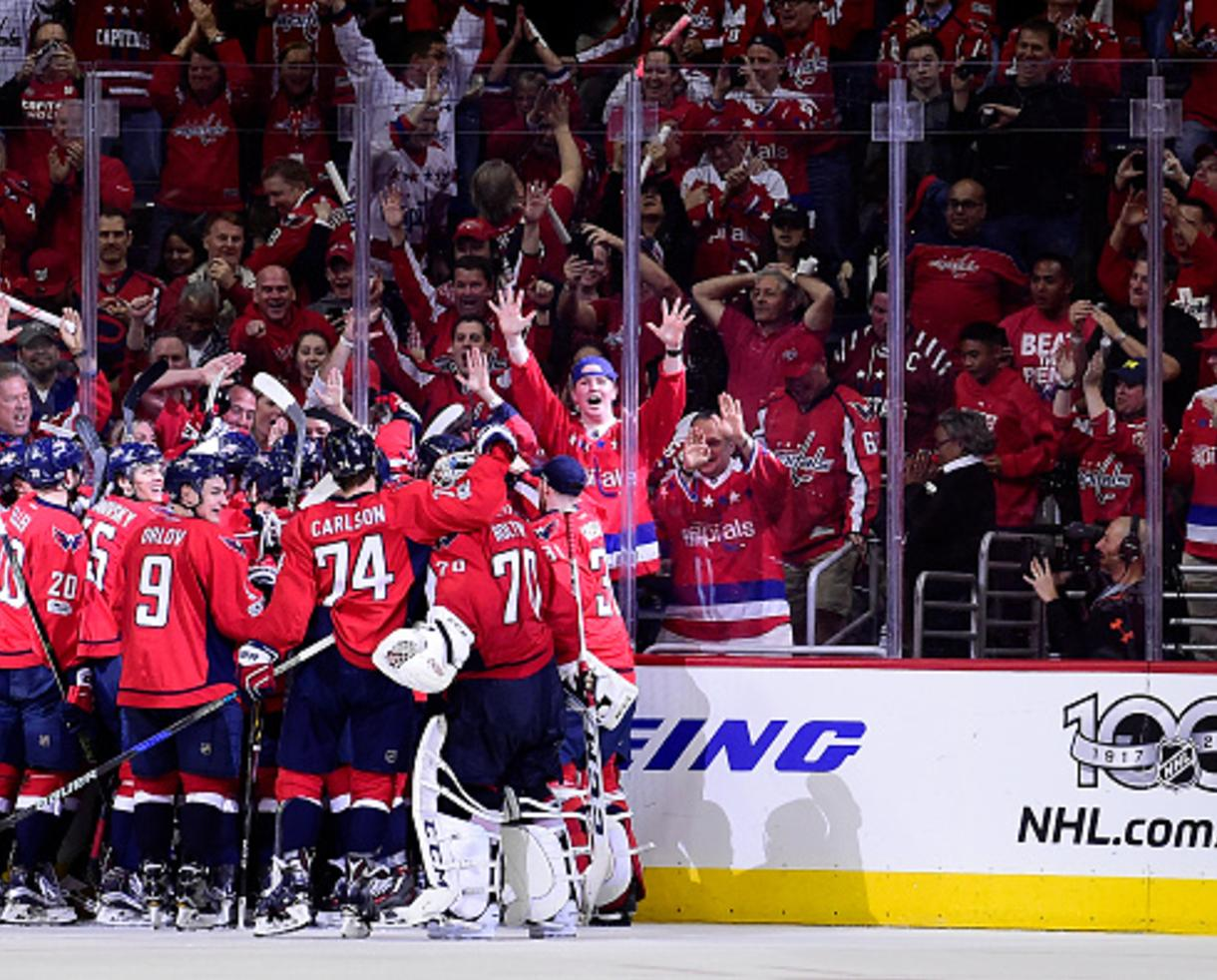 Deal   39+ for Washington Capitals Game Ticket + T-Shirt (Up to 56 ... 959c976b919