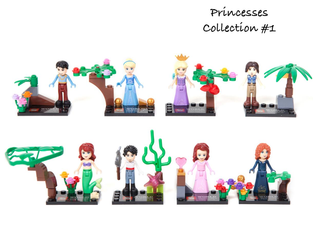 $18 for Set of 8 Building Block Figures - TEN Sets to Choose From! - Includes Shipping! ($36 Value - 50% Off)