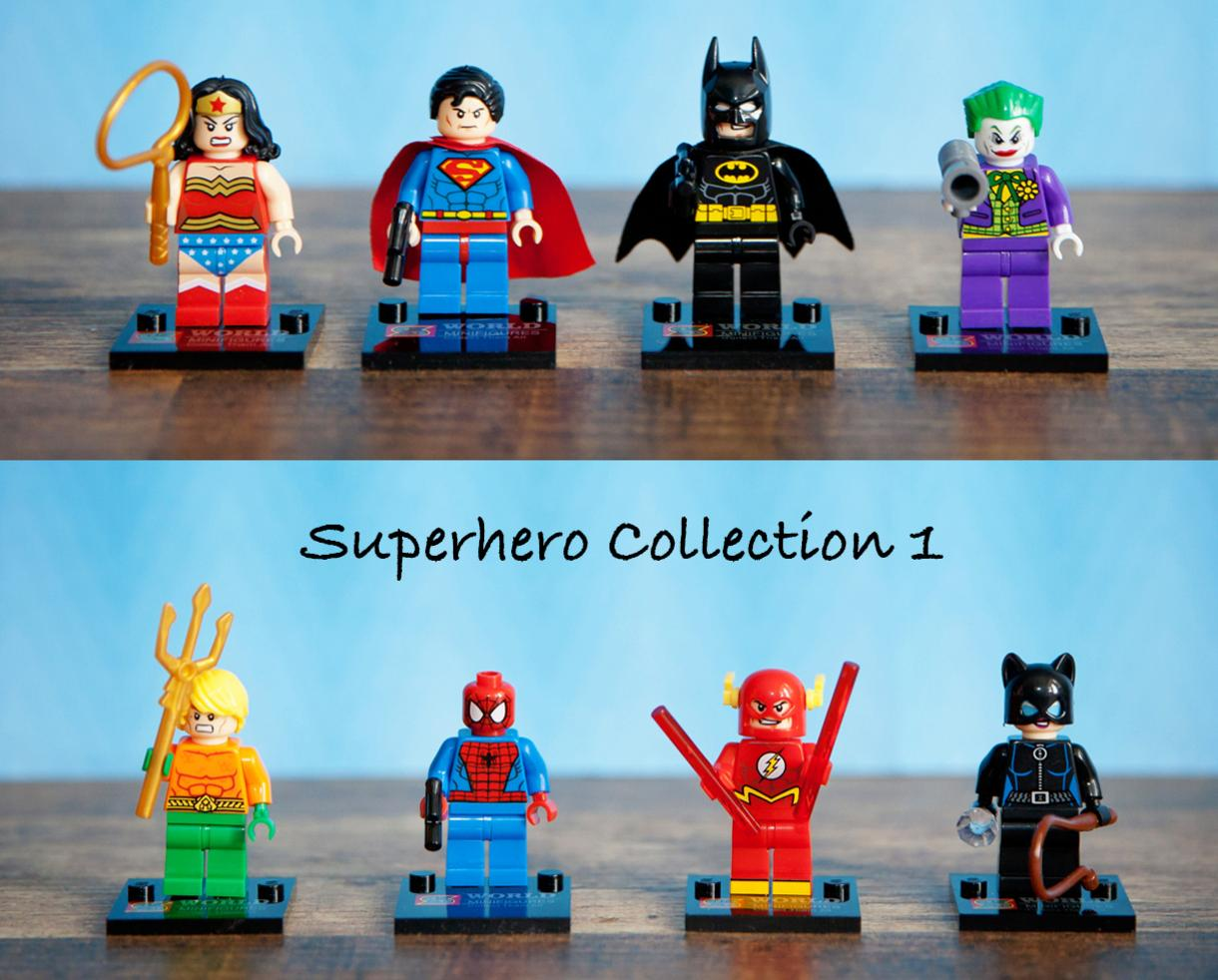 $18 for Set of 8 Building Block Figures - 8 Sets to Choose From! - Includes Shipping! ($36 Value - 50% Off)