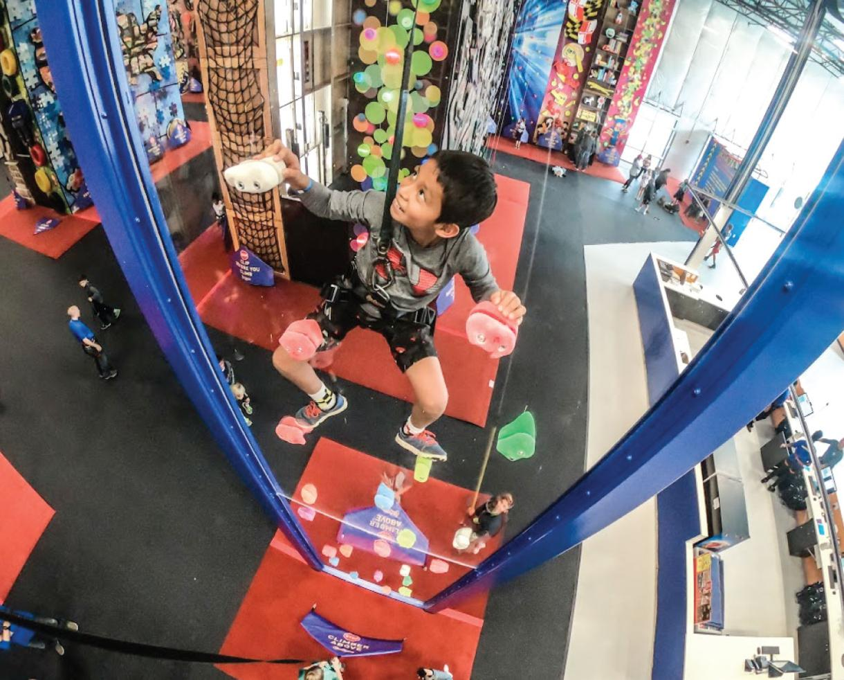 3 Hours of Indoor Rock Climbing for Ages 2-5 at the BRAND NEW ClimbZone in White Marsh