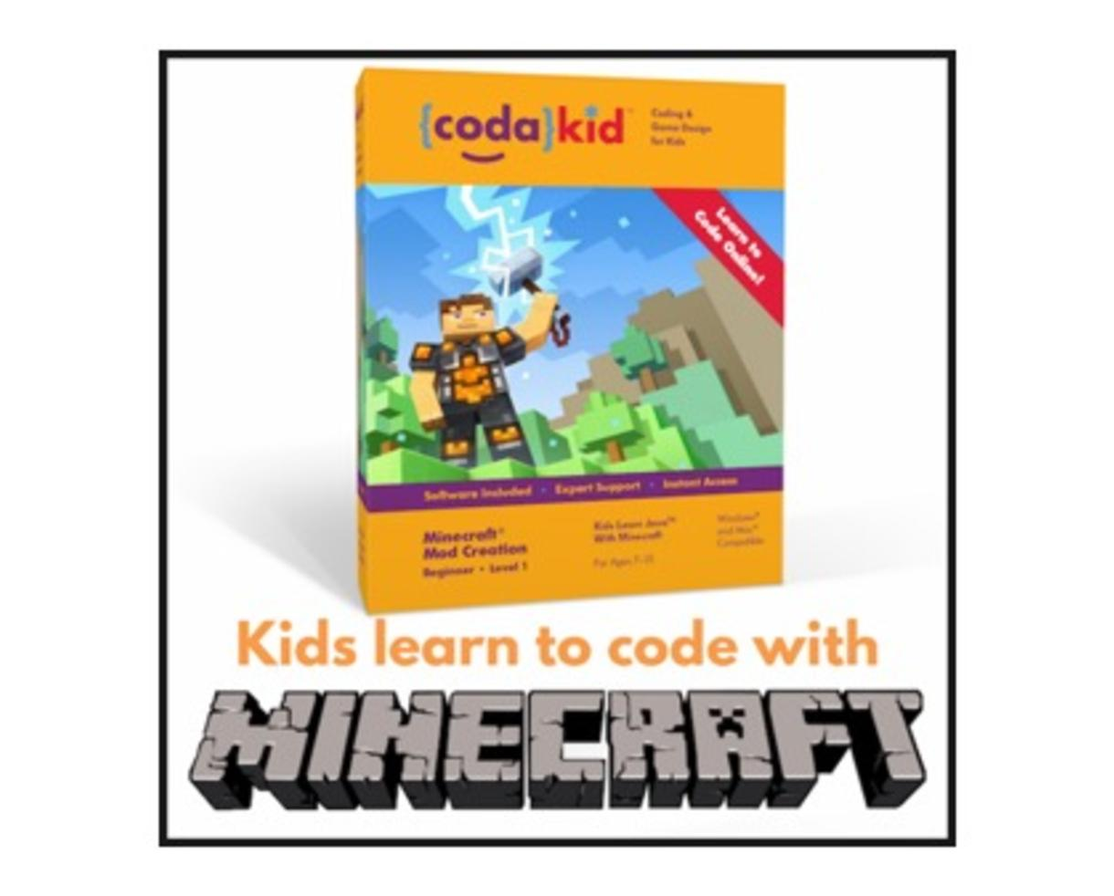 $125 for Online Minecraft Mod Building Class from CodaKid - Learn Java Programming! ($249 Value - 50% Off)