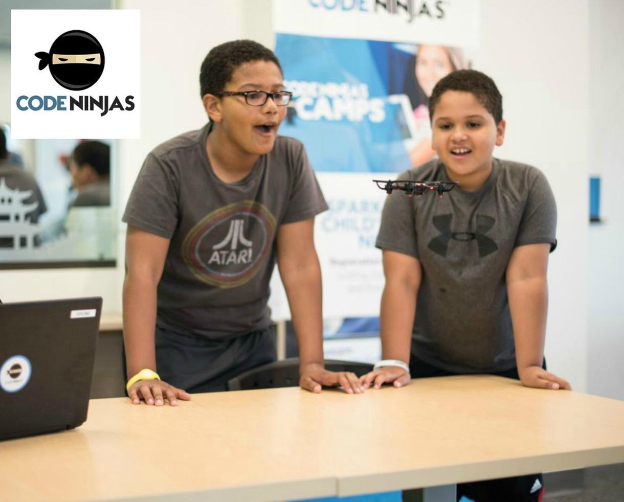 Drop-In Classes at NEW! Code Ninjas - Minecraft, Drones, Roblox & More