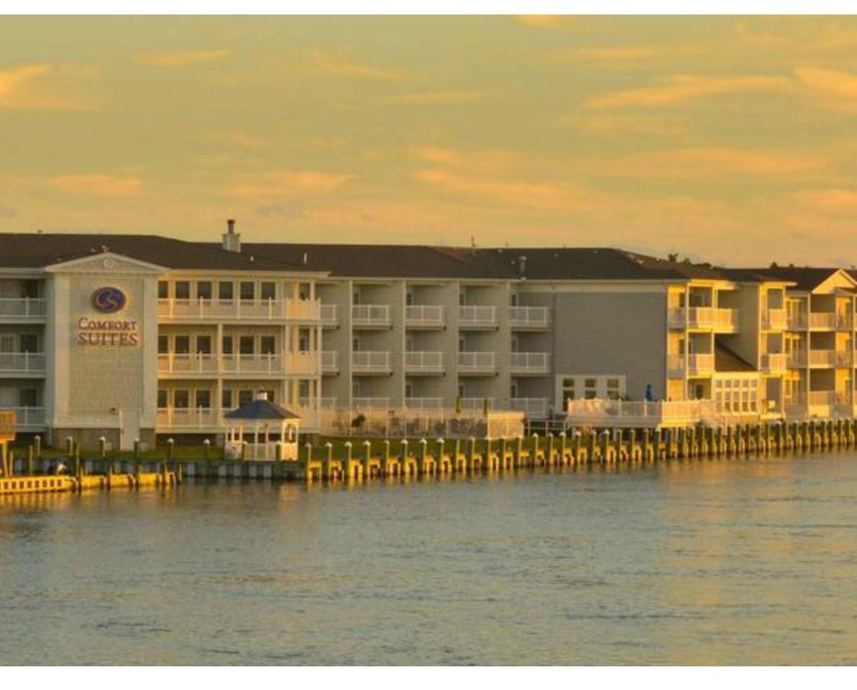Comfort Suites Chincoteague Waterfront Escape