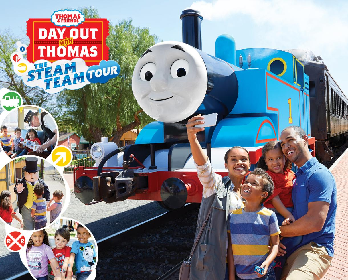 Deal: Day Out With Thomas: The Steam Team Tour | CertifiKID