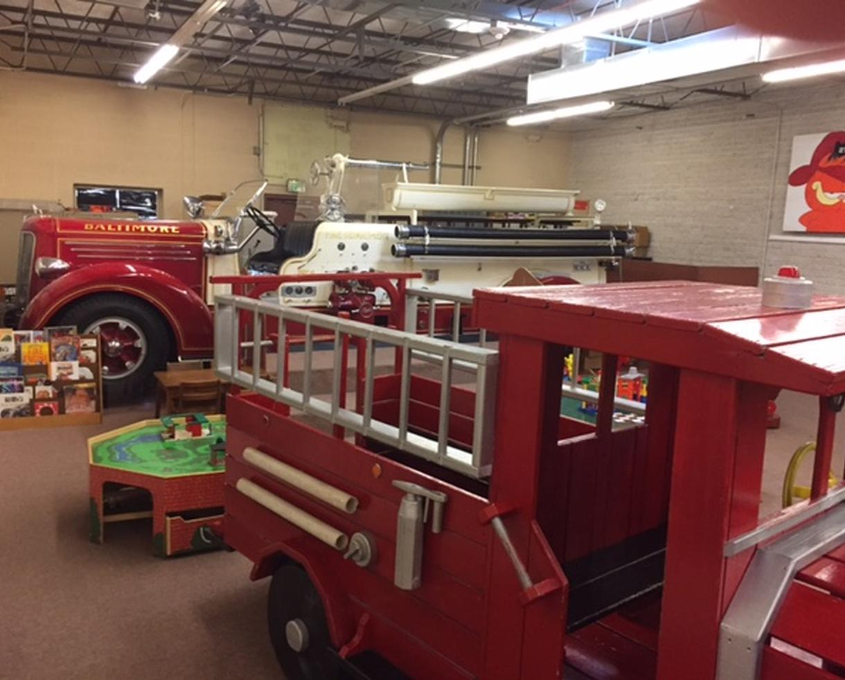 Fire Museum of Maryland Admission for 1 Adult and 2 Children