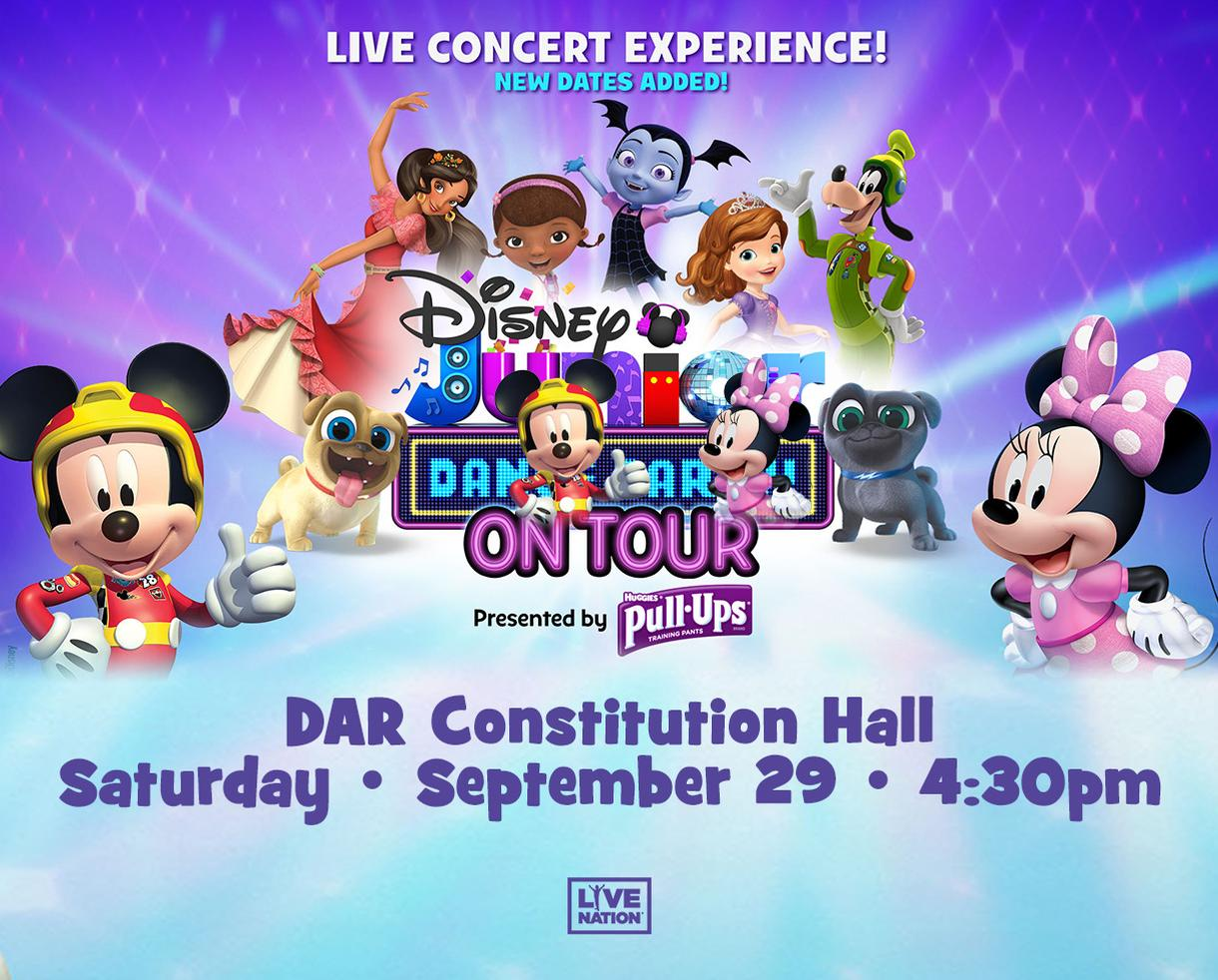 Disney Junior Dance Party Live at DAR Constitution Hall