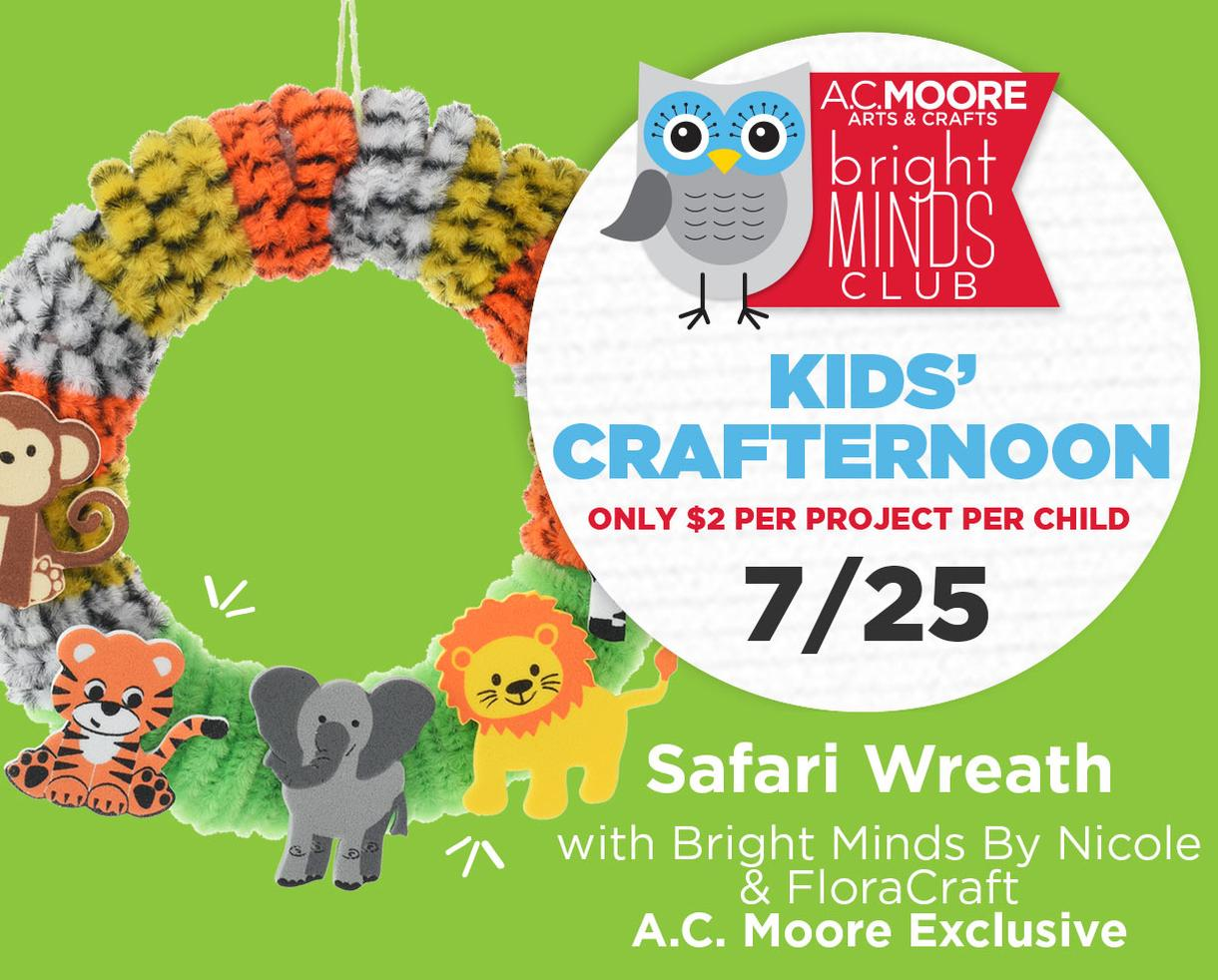 Deal Kids Crafternoons At A C Moore For 2 Certifikid