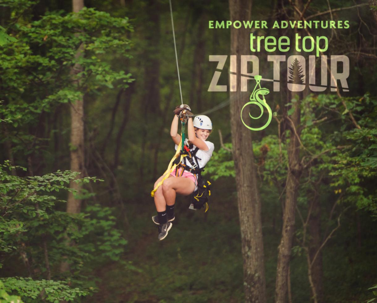 Treetop Zipline Tour at Salamander Resort & Spa