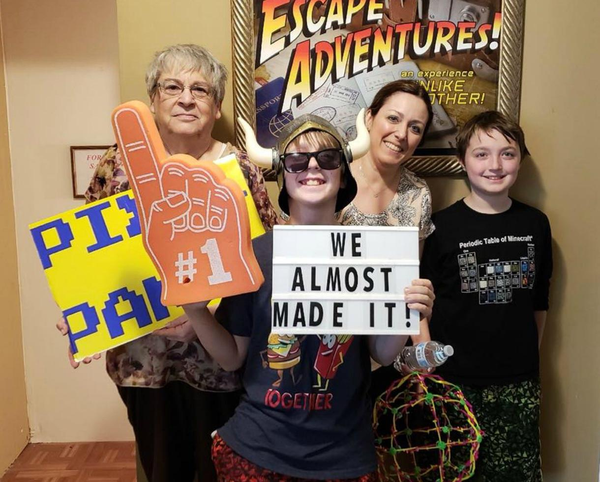 Single Weekday Evening Entry at Escape Adventures!